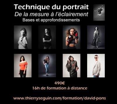 Technique du Portrait par David Pons